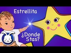 Estrellita Dónde Estás con letra - cantado en español (Twinkle Twinkle in Spanish) - YouTube