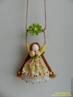 Купить Кукла подвеска Радостея - разноцветный, радость, колокольчик, подарок на…