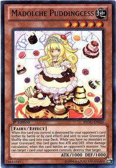 ultra rare Madolche Puddingcess REDU-EN026
