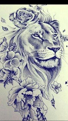 TATTOO IDEAS😍🙌🥰.               #tattoos#liontattoo#rosetattoo#butterflytattoos