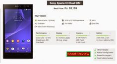 Sony Mobile Phones, Mobile Phone Price, Latest Phones, Gadget Review, Latest Mobile, Sony Xperia, Dual Sim, Mobiles, Mobile Phones