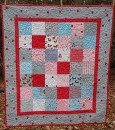 """""""A Walk in the Woods"""" quilt"""