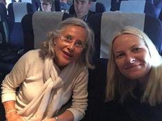 Crown Princess Mette-Marit with her mother Marit