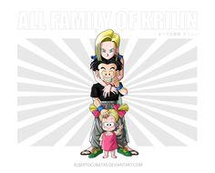 All family of Krilin by albertocubatas on DeviantArt