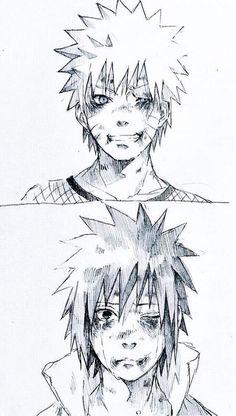 Sasuke y Naruto Naruto Vs Sasuke, Anime Naruto, Naruto Fan Art, Naruto Shippuden Anime, Sasunaru, Manga Anime, Narusasu, Boruto, Sasuhina