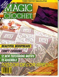 Magic Crochet Magazines - BuggsBooks.com