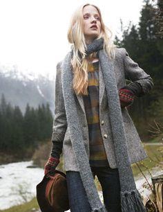 toast | chunky knit scarf, F2010