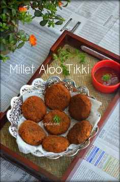 Millet Aloo Tikki/ Varagarisi potato cutlet    http://www.upala.net/2017/09/millet-aloo-tikki-varagarisi-potato.html