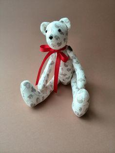 Stuffed Teddy bear Stuffed toys Toys baby bear by HandmadeToyStore