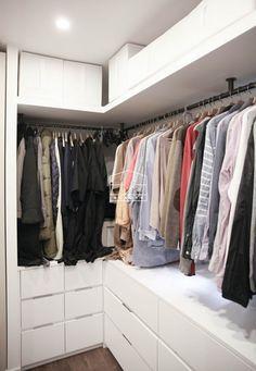27 Trendy Apartment Walk In Closet Organization Diy Basements