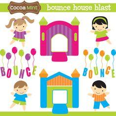 COCOA MINT Bounce house blast
