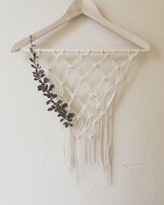 A personal favorite from my Etsy shop https://www.etsy.com/listing/399364359/cotton-wall-hanging