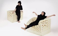 wow this is cool. Breathable chairs