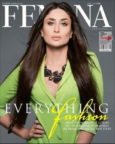 Kareena Kapoor on the cover of Femina (April 2013)   Photos Celebrities Movies Indian Television News Videos