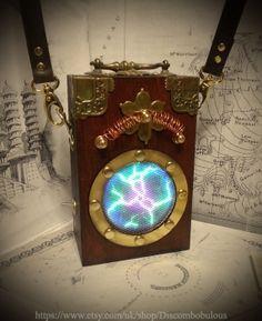 Steampunk, Adventurer, Time Traveller, Plasma Box - Airship , Warehouse 13, Kraken, Cthulhu, Zeppelin, Explorer, Clockwork, Cog, Dieselpunk