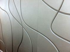 Leather tracking wall, Harcourt leather, Morey Smith Architects, Dealerward.