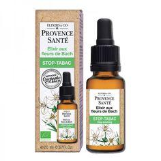 Stop-Tabac Elixir aux Fleurs de Bach Provence Santé