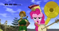 Pinkie Pie VS Link