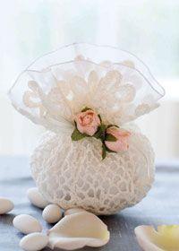 Ideas de arroceros para boda a crochet (5)