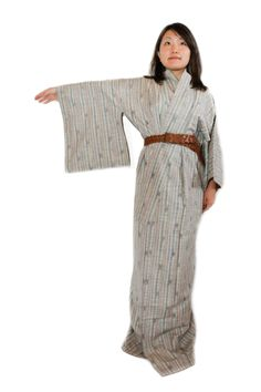 Vintage Japanese Multi-Striped Kimono, Costume, Light Cardigan, Fall Wear, Autumn Outfit, Spring Outfit, Transitional Outerwear by CJSTonbo on Etsy