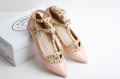 2012 summer new VALENTINO leather pointed flat shoes - Taobao