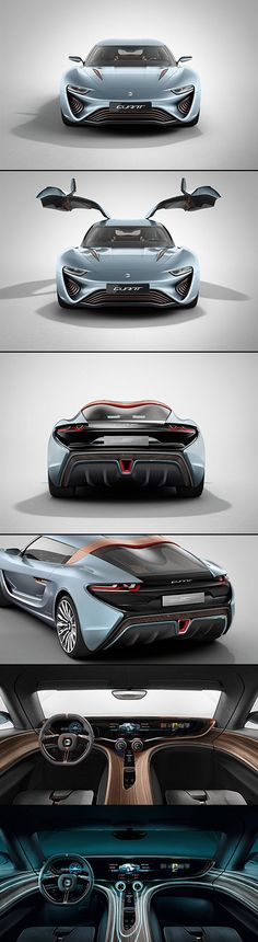QUANT e-Sportlimousine – The Salt Water-Powered Car with 912 Horsepower E Sports, Sexy Cars, Hot Cars, Water Powered Car, Audi, Porsche, Lamborghini, Ferrari, Automobile