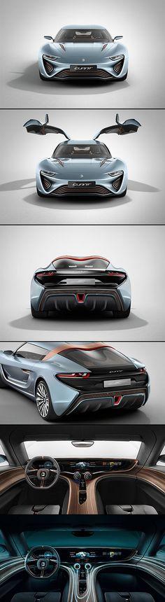 QUANT e-Sportlimousine - The Salt Water-Powered Car with 912 Horsepower - TechEBlog