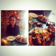 #ScottishInvasion Bowmore Super Sunday Seafood Roast