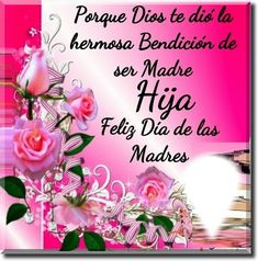 Spanish Greetings, Images Of Happiness, Happy Mothers Day, Spirit Quotes, Sons, Cards, Mothers