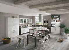 Another fine example of a simple and timeless design from Nobilia, the Aviano Kitchen is finished in a gloss lacquer.