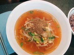 Korean - Kongnamulguk 콩나물국 - Soybean sprout soup.