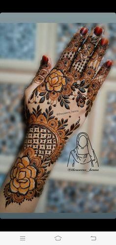 Khafif Mehndi Design, Floral Henna Designs, Mehndi Designs Book, Mehndi Designs 2018, Mehndi Designs For Girls, Mehndi Design Photos, Mehndi Designs For Fingers, Dulhan Mehndi Designs, Mhndi Design