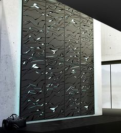 """""""Nova"""" Rock Climbing Walls, by Lunar via lifeishoney: Sleek and high tech personal bouldering wall with grooves which light up showing the holds for the particular 'route' you select. Here is the video http://vimeo.com/41071303 #Climbing_Wall #Lunar_Europe"""