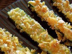 Zucchini Oven Crisps