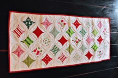Christmas Cathedral Windows by Darci - Stitches, via Flickr