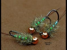 Fly Tying a Squirrel Hair Jig River Nymph by mak Fly Fishing Tips, Trout Fishing, Fishing Lures, Fishing Hole, Fishing Tricks, Fishing Stuff, Carp Fishing, Ice Fishing, Fishing Tackle