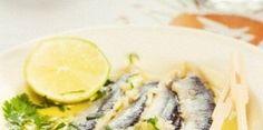 Γαύρος Ξυδάτος με Κόλιανδρο Spanakopita, Greek Recipes, Seafood Recipes, Main Dishes, Yummy Food, Chicken, Meat, Greek Beauty, Ethnic Recipes