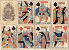 Hunt & Sons, 1821-1840 - World of Playing Cards