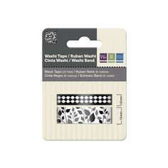 http://www.amazon.com/We-Memory-Keepers-Washi-Black/dp/B007WDTXOC/ref=sr_1_78?ie=UTF8&qid=1395658196&sr=8-78&keywords=washi+tape $6.27