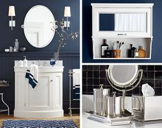Adding beadbord & moulding to bathroom too to match living room + add niceness.