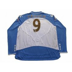 Photo2: Portsmouth 2007-2008 Away L/S Shirt #9 Crouch BARCLAYS PREMIER LEAGUE Patch/Badge w/tags 110th anniversary Portsmouth Away L/S Shirt - Football Shirts,Soccer Jerseys,Vintage Classic Retro - Online Store From Footuni Japan