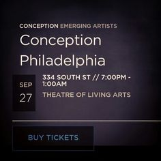 Come view art and listen to live music at the TLA in Philly this Saturday night, September 27th 2014, at 7pm (until 1am). Tickets are 15$ online, and if you buy, choose my name, Alexa Razzano, as the artist you are supporting, thanks! http://www.conceptionevents.com/event/12423943349