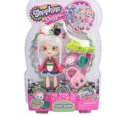 Shopkins new shoppie doll Sara sushi