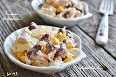 Z miłości do słodkości...: Sałatka alpejska Cooking Recipes, Healthy Recipes, I Love Food, Food Inspiration, Potato Salad, Oatmeal, Food And Drink, Pizza, Breakfast