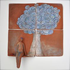 Window with a View - Wall Sculpture by Janice Cormier