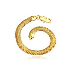 Snake Shaped Soft Bracelet https://www.evermarker.com/collections/charm-bracelets-1?pid=snake-shaped-soft-bracelet&utm_source=Pinterest_Organic&utm_medium=Traffic&utm_campaign=snake-shaped-soft-bracelet