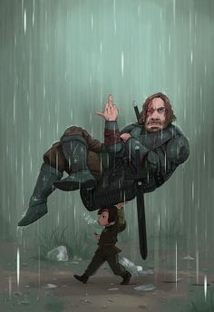 Game of Thrones Arya Stark und The Hound - von BlayneFox ° ° ° . - Game Of Thrones Dessin Game Of Thrones, Arte Game Of Thrones, Game Of Thrones Artwork, Game Of Thrones Arya, Game Of Thrones Facts, Game Of Thrones Funny, Game Of Thrones Comic, Game Of Throne Lustig, Geeks