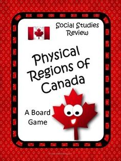 Physical Regions of Canada Game