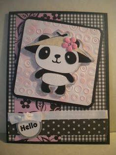 Craftin Desert Diva's: Cricut Create A Critter Panda Card - info on blog