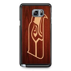 Seahawk WoodPhonecase Cover Case For Samsung Galaxy Note 2 Samsung Galaxy Note 3 Samsung Galaxy Note 4 Samsung Galaxy Note 5 Samsung Galaxy Note Edge